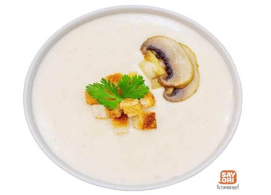 Грибной крем-суп - Сайори